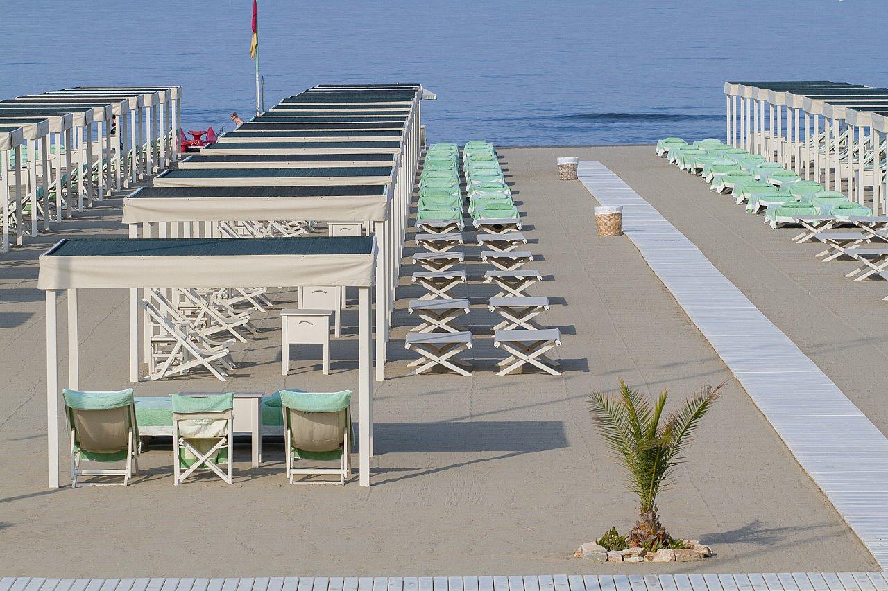 Gallery fotografica - spiaggia servizi - Bagno Eden Park
